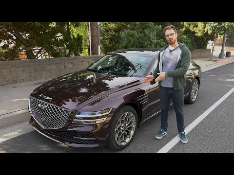 2021 Genesis G80 Test Drive Video Review