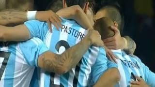 Goal Sergio Aguero Argentina vs Paraguay 6-1 Copa America 2015