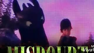 """Клип к мф""""Как приручить дракона 1,2""""песня Holiday"""