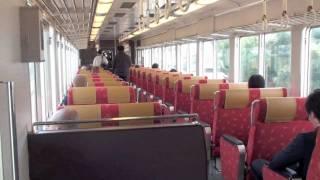 【阪急電鉄】6300系6354F×6R・京とれいん%車内の様子&桂入庫('11/03)