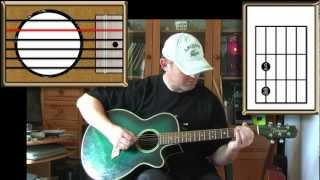 Redemption Song - Bob Marley - Acoustic Guitar Lesson (Easy)