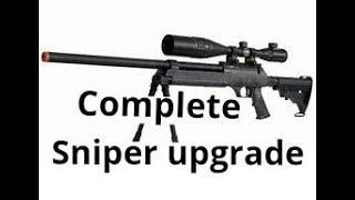 Echo 1 ASR sniper rifle upgrade.