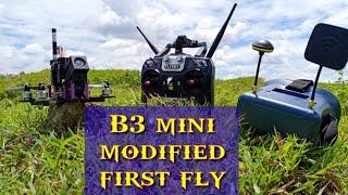 MJX BUGS 3MINI B3 MINI MODIFICATION TEST FLY DRONE GADGET