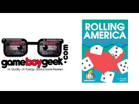 The Game Boy Geek Reviews Rolling America