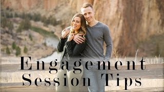 Natural Lighting And Posing // Photography Engagement Session Ep4