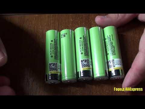 Аккумуляторные батареи 18650 NCR18650B 3.7В 3400мА от Liitokala