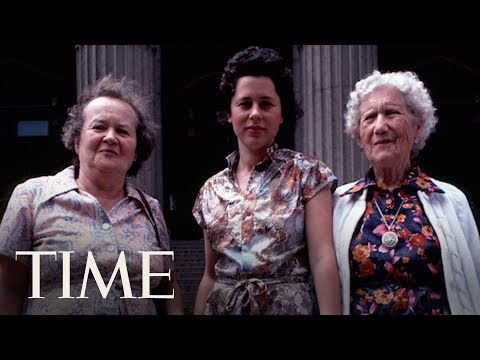 Tři generace matek - Slavné fotografie