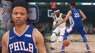 NBA Live 19 The One Career | Nut Meg Dribble Gawd DESTROYS Markelle Fultz With TWO NUT MEGS!