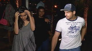 Sidharth Malhotra With Shraddha Kapoor For Dinner At  Yauatcha