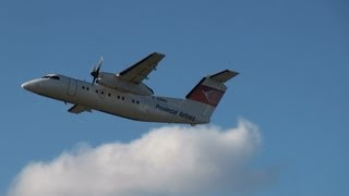 preview picture of video 'Provincial Airlines DHC-8-106 Dash 8 Takeoff 24L YUL / CYUL Montreal Trudeau Int'l Airport'