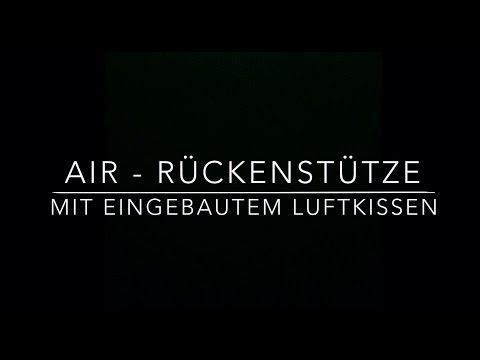 SITBACK Air - Rückenkissen fürs Auto mit integriertem Luftkissen
