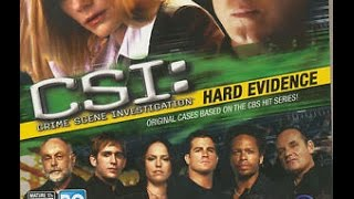Evident To Engaging Entertainment - CSI: Hard Evidence PC Game