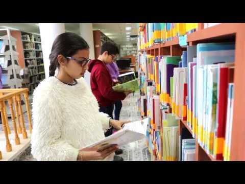 مكتبة أكاديمية القاسمي- سلسلة عرض المراكز التربوية والثقافية المختلفة في أكاديمية القاسمي