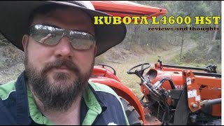 Kubota L4600 Tractor (4wd) HST Review