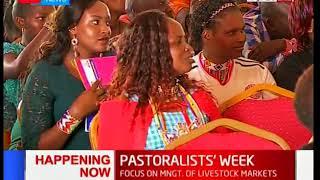 Garissa Governor Ali Roba Korane at the Pastoralists' Week in Kajiado County