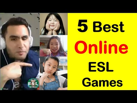 247 - Online ESL Games | 5 Best Online English Teaching Games