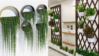 Awesome Indoor Herb Garden Ideas||unique Ideas For Hanging Plants Indoors