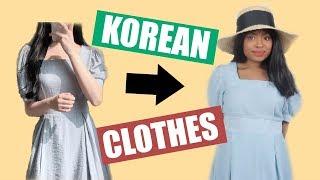 I SPENT $500 ON KOREAN CLOTHING