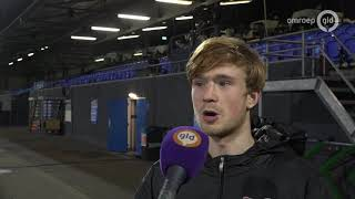 Reacties Thomas Beekman en Bart van Rooij na zege NEC in Eindhoven