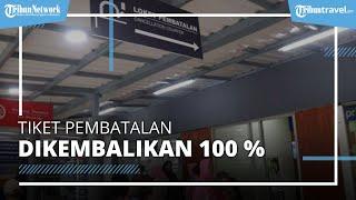 KA Jarak Jauh Dari Area Daop 1 Jakarta Gagal Berangkat, Tiket Bisa Dibatalkan