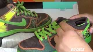Nike SB Dunk Low De La Soul 2015 Sneaker Review + Comparison With Original With @DjDelz