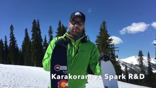 Karakoram VS Spark R&D Splitboard Bindings 2016