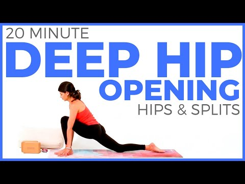 25 Min Splits, Hips & Hamstrings Stretch Routine w/ Sean