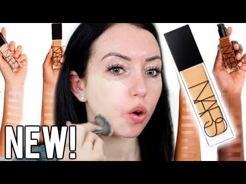 NEW! NARS RADIANT LONGWEAR FOUNDATION {First Impression Review & Demo!} Fair Skin- Mont Blanc