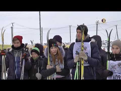 Открытие спортивного зимнего сезона в Альшеевском районе