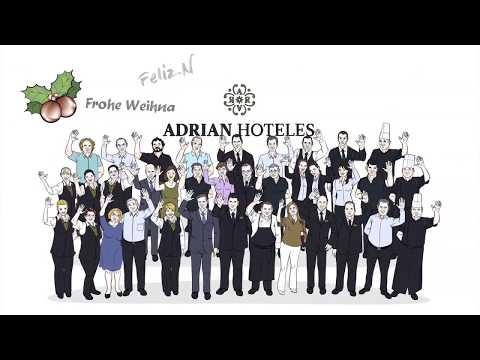 Felicitación Navideña para Videoscribing by Primera Plana de Adrian Hoteles