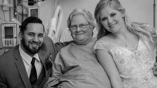 Newlyweds Surprise Grandma In Hospital After She Misses Wedding