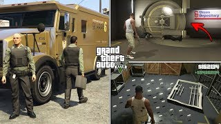 How To Get Inside The Golden Bank Vault and Get Unlimited Money in GTA 5! (Secret Money Truck)