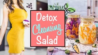 Detox Salad To Beat Belly Bloating And Get Lean!