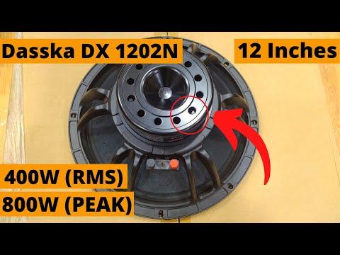 Dasska DX 1202N 12 Inch DJ Speaker 400W