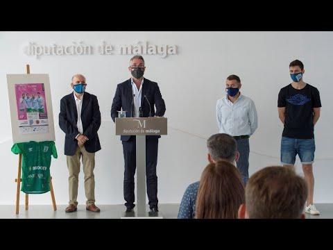 Diputación de Málaga apoya al Antequera en su vuelta a la máxima categoría