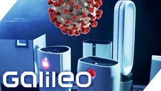 Galileo TEST Luftreiniger: Wie gut helfen sie wirklich gegen Corona? | Galileo | ProSieben
