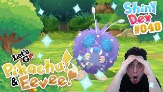 Venonat  - (Pokémon) - CRAZY LUCKY SHINY VENONAT in POKÉMON LET'S GO PIKACHU AND EEVEE!