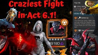 Craziest Fight in Act 6.1! Buffed Up Symbiote Supreme! Pilfer! - Marvel Contest of Champions