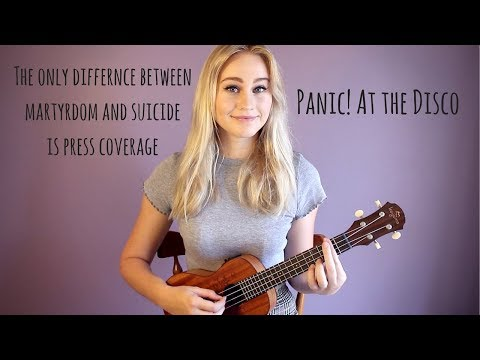 The Only Difference - Panic! At The Disco | Ukulele Cover