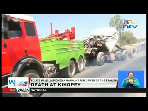 12 dead as trailer rams matatu, three other trucks in Gilgil