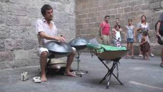Pedro Collares Playing Hang In Barcelona