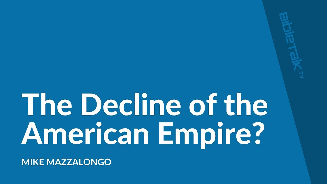 The Decline of the American Empire?