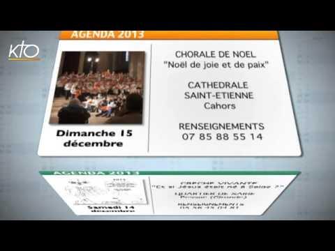 Agenda du 09 décembre 2013