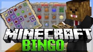 Minecraft 1.8 (Snapshot) Bingo Scavenger Hunt
