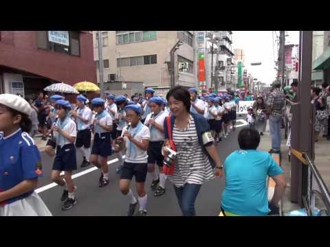 第48回志村銀座まつり  志村小学校鼓笛隊パレード
