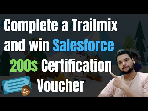 Opportunity to Win A 200$ Salesforce Certification Voucher. - YouTube