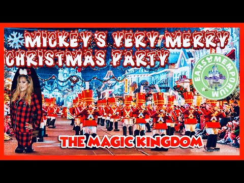🔴Live: Mickey's Very Merry Christmas Party.Parade.Fireworks.Mickey's Most Merriest.