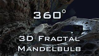 360° Fractal Death Valley - Mandelbulb 3D fractal