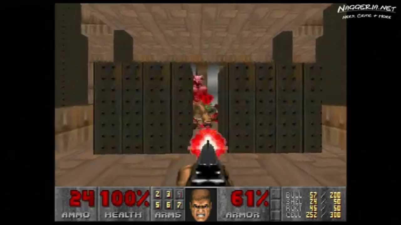 "Doom (E4M9 ""Fear"") Walkthrough – Ultra-Violence"