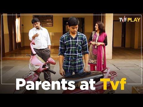 Parents at TVF   Exciting shows and videos on TVFPlay